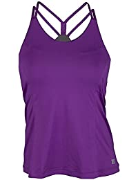Wilson W Double Strap Tank Plumberry - Camiseta para mujer