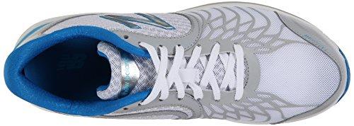 New Balance Women's WW1765V2 Walking Shoe White/Blue