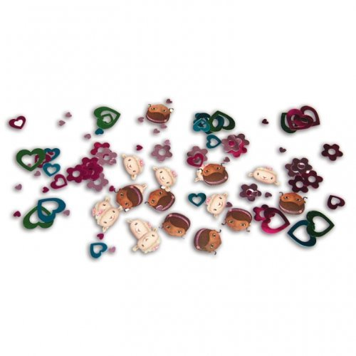 tstag Party Tisch Konfetti Sprinkles Triple Pack ()