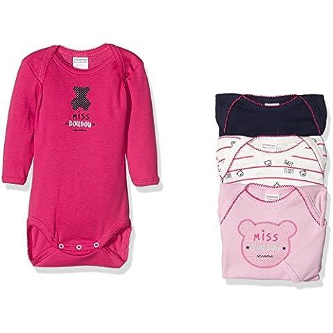 Absorba Underwear Ope Miss Doudou-Body para bebés (set de 4)