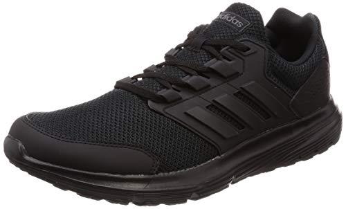 adidas Herren Galaxy 4 Laufschuhe,Schwarz (Core Black), 45 1/3 EU