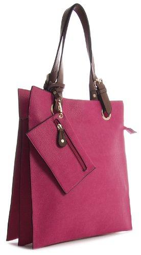 Big Handbag Shop, Borsa tote donna Rosa (Rosa)