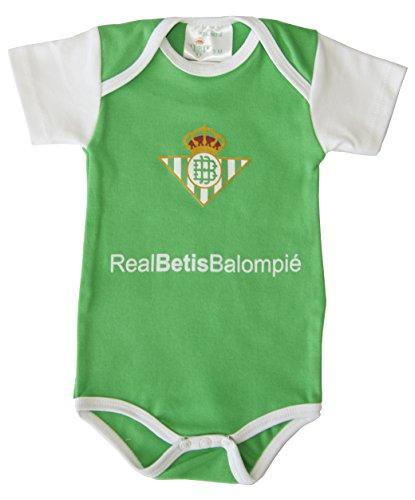 Real Betis Balompié Bodbet Body, Infantil, Multicolor (Verde/Blanco),