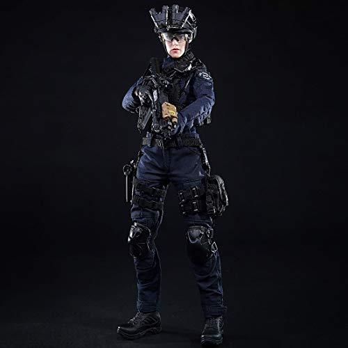 TONGJI 1/6 Figur Militär Modell Figuren Soldier SWAT Frauensoldat Model Soldaten Figur Soldat Action-Figur-Modell Spielzeug 30cm