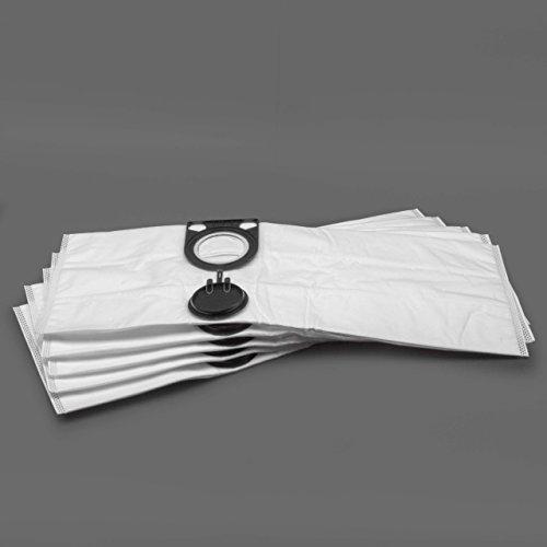 vhbw 5 x Beutel Papier für Staubsauger Saugroboter Mehrzwecksauger Metabo AS 1200, AS 20 L, AS 8520, ASA 1201