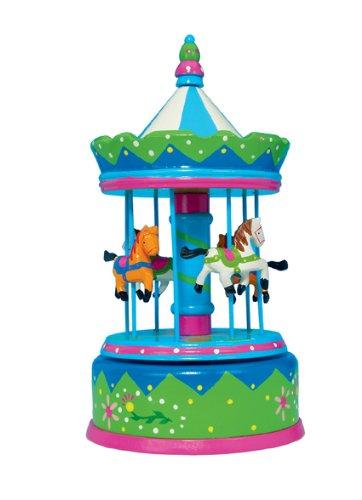 Spieluhrenwelt Music Box World 44024 - Carillon giostra con i cavalli