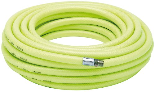 DRAPER 23190 15 2M 1/4 BSP 8MM BORE HIGH-VIS AIR LINE HOSE