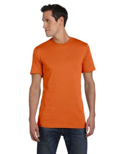 Soft Yoke (Bella+Canvas Womens Super Soft Athletic Yoke T-Shirt 3001C -Burnt ORANGE S)