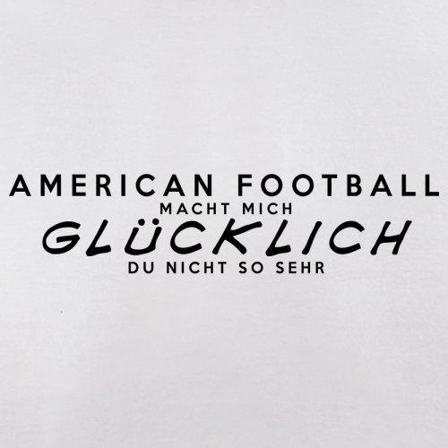 American Football macht mich glücklich - Herren T-Shirt - 13 Farben Weiß