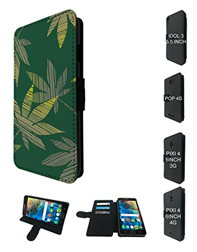 endy Weed Rasta Smoking Marijuana Jamaican Design alcatel A3 XL 6