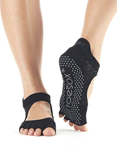 TToeSox agarre media punta calcetines Bellarina, calcetines de baile y se...