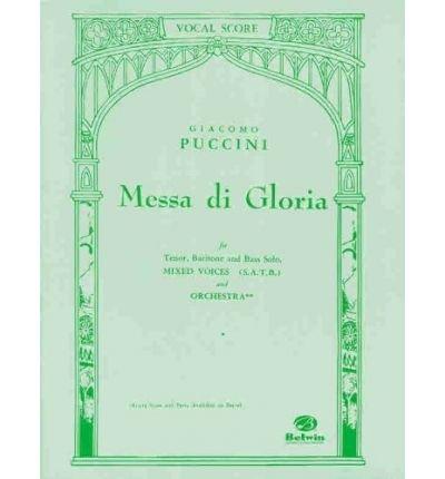 MESSA DI GLORIA VOCAL SCORE SATB