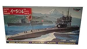 Mirage Hobby 40046, 1: 400 échelle, I-506 typ IX D1 Turm IV sous-marin japonais, kit de modèle en plastique
