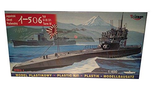 Sottomarino giapponese i-506 - ix d1 scala 1: 400