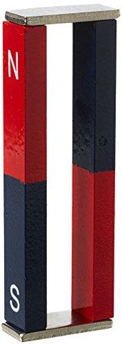 Magnet Expert - Alnico Barre magnetiche con plo nord-sud 11 x 6 x 75 mm, pacco da 2