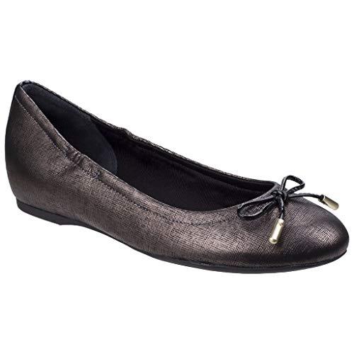 Rockport Damen Tied Ballet Schuhe Ballerinas Onyx 38