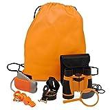 #5: Exploration Kit for Kids - Outdoor Gear Gift Set for STEM Learning & Nature Exploring for Children - Compass, Binoculars,Magnifying Glass, Flashlight Backpack Pack for Toddler Boys & Girls