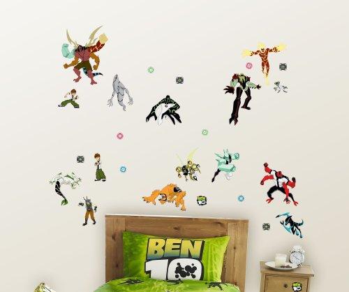 Image of Decofun, Ben 10 Wall Sticker Stikarounds