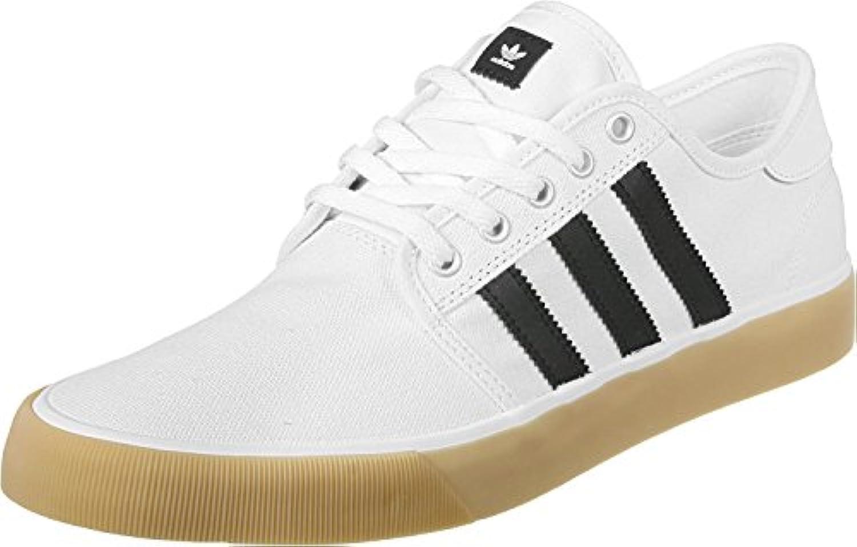 adidas Seeley Decon Herren Sportschuhe, Weiß – (Ftwbla/negbas/Ftwbla) 42 2/3 -