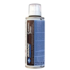 Donic-Schildkröt Tischtennis Reinigungsspray, 200 ml, zum Reinigen und Auffrischen der Schläger-Beläge, 828523