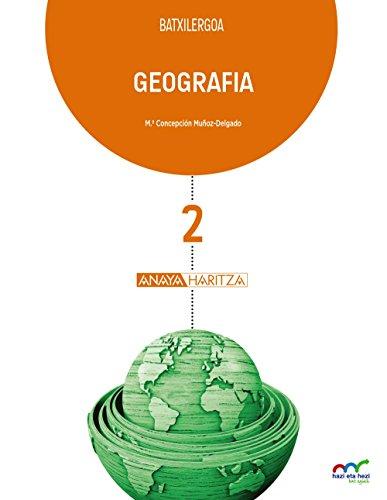 Geografia 2. (Hazi eta hezi bat eginik) - 9788469832516 por Mª Concepción Muñoz-Delgado y Mérida