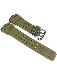 Casio Casio-24042-203 - Correa para reloj, resina, color verde