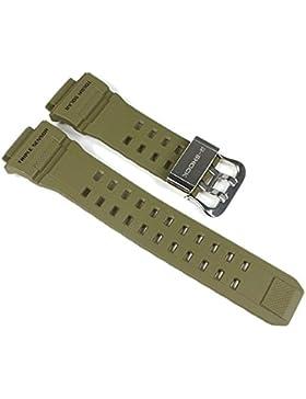 Casio G-Shock Ersatzband Uhrenarmband Resin Band Olivgrün für GW-9400