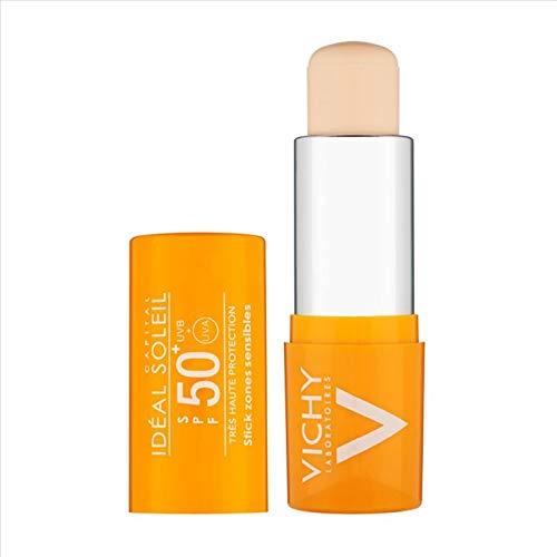 Vichy idéal soleil - stick solare per zone sensibili, stick protettivo, spf 50+, 9 gr