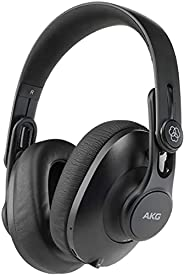 AKG K361BT Over Ear Foldable Studio Headphones With 28 Hour Battery Life, Bluetooth 5.0 And HD Microphones For