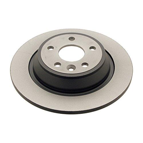 Preisvergleich Produktbild febi bilstein 30721 Bremsscheibensatz (hinten,  2 Bremsscheiben),  Lochzahl 5