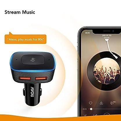 Roav-VIVA-von-Anker-Alexa-fhiges-2-Port-USB-Autoladegert-fr-GPS-freihndiges-Telefonieren-Musikwiedergabe-Kompatibel-mit-Android-und-iPhones