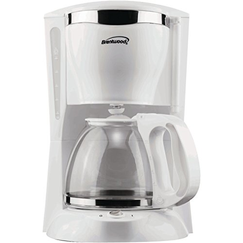 Brentwood ts-216Geräte 12Cup Kaffeemaschine, weiß
