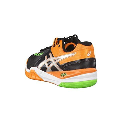 ASICS Gel-Blast 6, Chaussures Multisport Outdoor Hommes Black / Silver / Pumpkin
