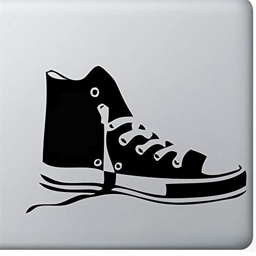Wandtattoo Kinderzimmer Automobil Logo Dekoration Schuhe Turnschuhe Schwarz Auto Aufkleber Symbol Silhouette Tastatur Track Pad Aufkleber Laptop Haut