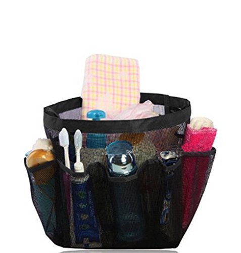 bao-core-quick-dry-mesh-bathroom-shower-caddy-bag-8-pockets-cosmetic-toiletry-hanging-organiser-acce