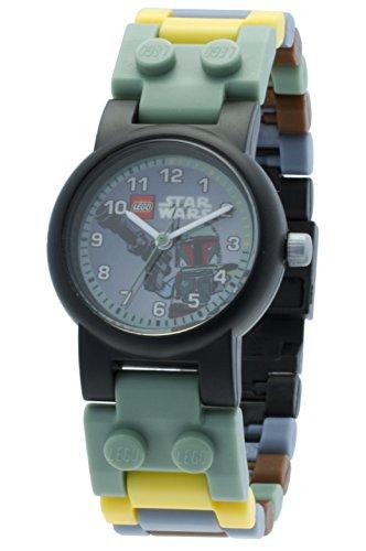 lego-star-wars-8020363-reloj-boba-fett-con-minifigure