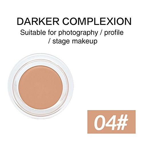 Oshide Maquillage Primer Cover Pore rides anti-cernes contrôle de l'huile cosmétique Face Base Contour Palette