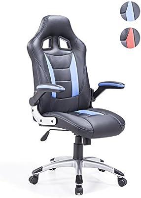 Adec - Silla giratoria oficina, sillón escritorio Gaming