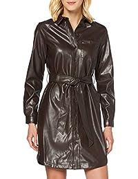 PIECES Pcrena LS Shirt Dress Vestido para Mujer