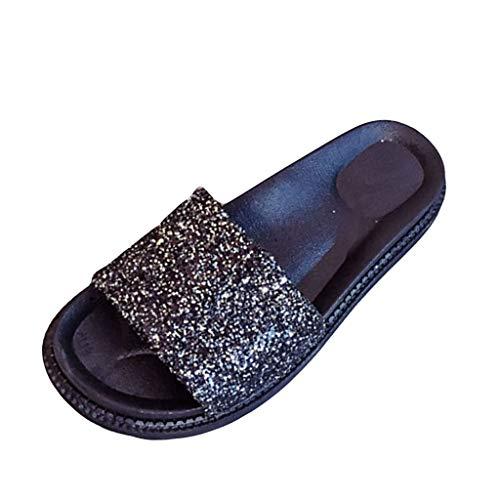 Wawer Damen Sommer Sandalen Casual Schuhe Sandalen Schnalle Keile Retro Peep Toe Slipper Sandalen