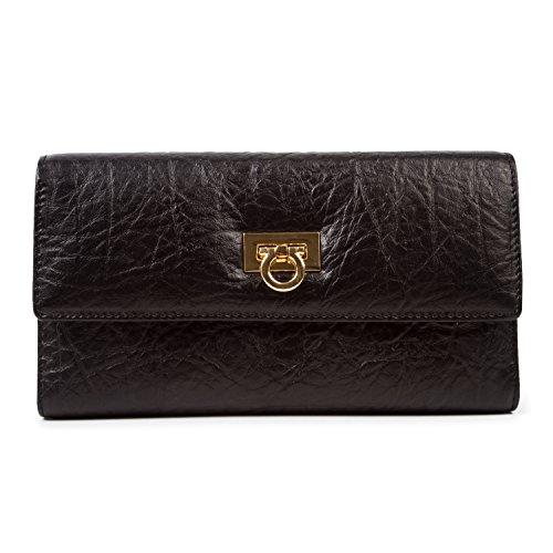 baigio-women-quality-leather-wallet-card-holder-organizer-zipper-pocket-long-purse-for-girls-black