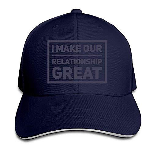 Kotdeqay Hip Hop Caps Printing Multicolor Adjustable Baseball Hats Make Our Great Classic Adjustable OL4403