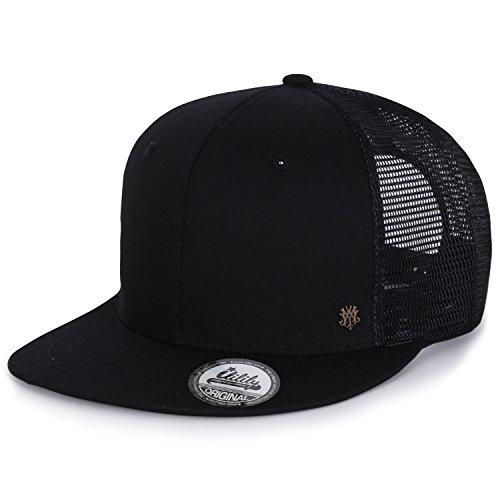 ililily Extra Big Size Solid Color New Era Style Snapback Hat Baseball Cap  (ballcap- 5ae81c9f0d7