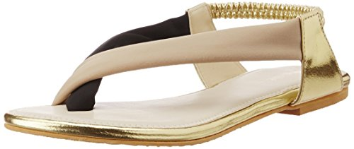 Pimento(by malaga) Women's Beige Fashion Sandals - 5 UK (SLI 655 F)  available at amazon for Rs.244