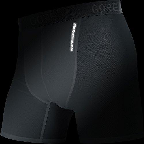 Gore Wear Herren M Windstopper Base Layer Boxer Shorts black