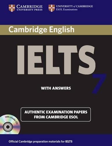 Cambridge IELTS 7 Self-study Pack (Student's Book with Answers and Audio CDs (2)) Examination Papers from University of Cambridge ESOL Examinations