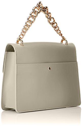 Chicca Borse 8679, Borsa a Mano Donna, 24x19x8 cm (W x H x L) Beige (Taupe)