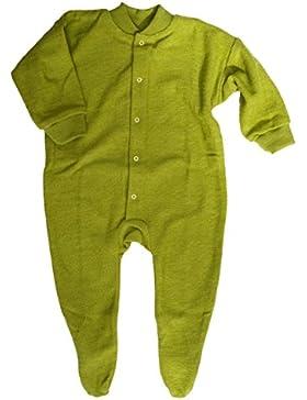 Cosilana, Schlafanzug/Strampler mit Fuß, Woll-Frottee, 100% Wolle (kbT)