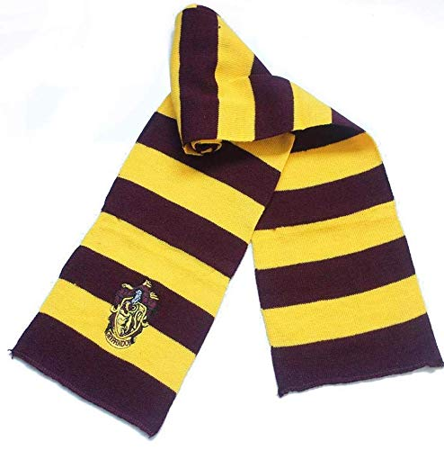 24x7 eMall Girl's and Boy's Knitting Harry Potter Gryffindor House Crest Scarf (Medium)