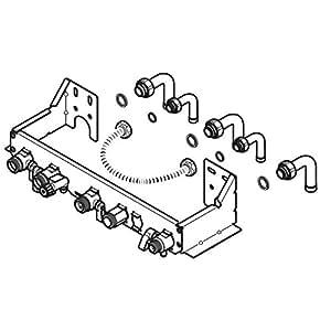Plaque de raccordement pour chaudières C25E C25EV et F25E-H-MOD 0020037590